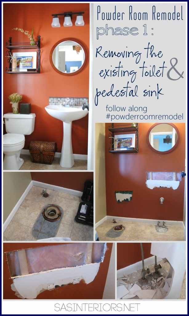 18 Best Images About Rooms Half Bathroom On Pinterest