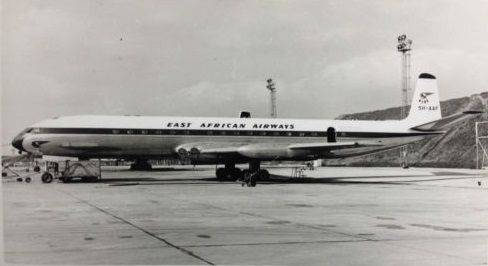 East African Airways Comet 4 5H-AAF