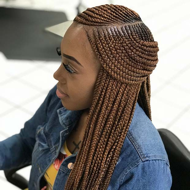 43 Trendy Ways To Rock African Braids Page 2 Of 4 Stayglam Lemonade Braids Hairstyles African Braids Hairstyles Cornrow Hairstyles