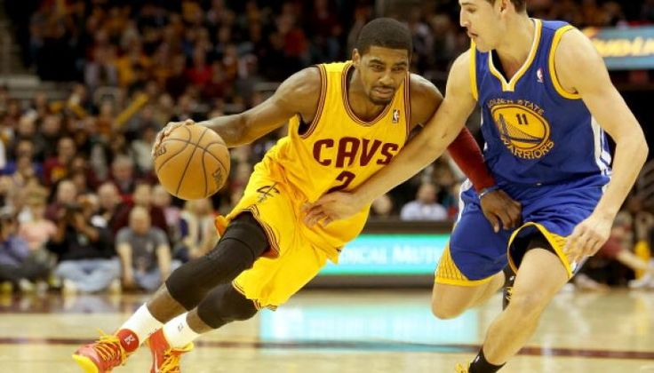 Kyrie Irving and Klay Thompson Ready for Game 1 of NBA Finals