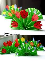 Spring Bouquet Craft For Kids