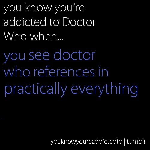 You know you're addicted to tumblr when you see all fandom references in everything.: Nerd, Whovian, Stuff, Doctorwho, The Doctor, Doctor Who, Doctors, Dr. Who, Mad Man