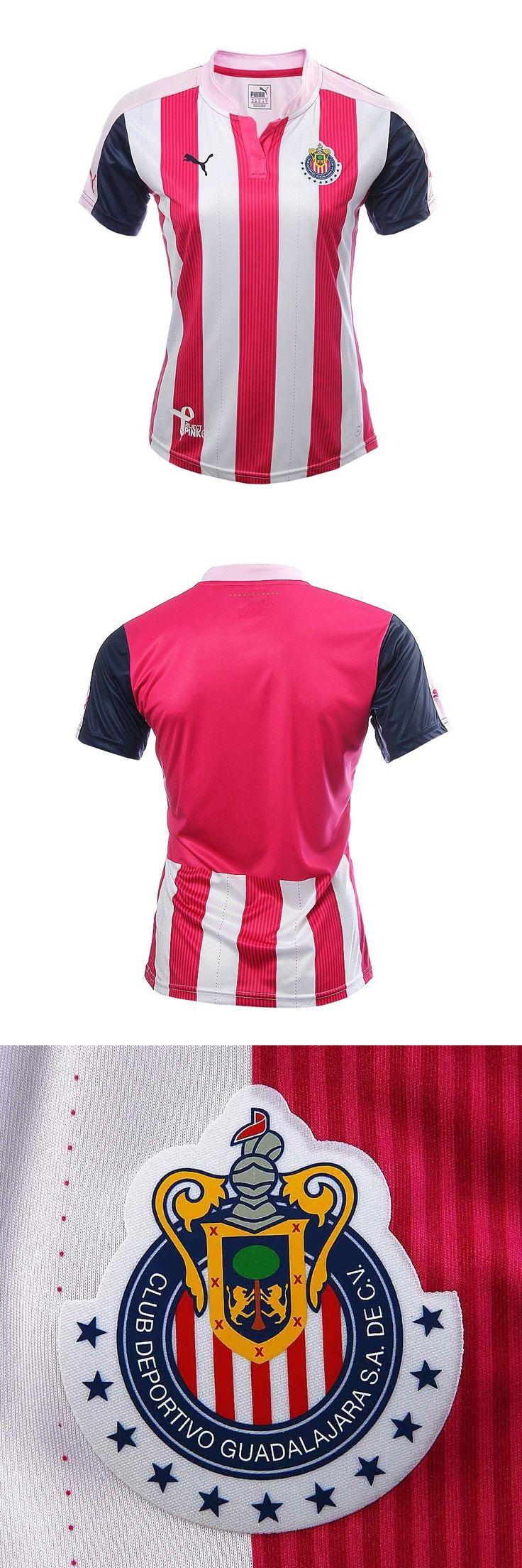 Women 159098: Chivas Puma Women Pink Jersey 2016/17 -> BUY IT NOW ONLY: $50 on eBay!