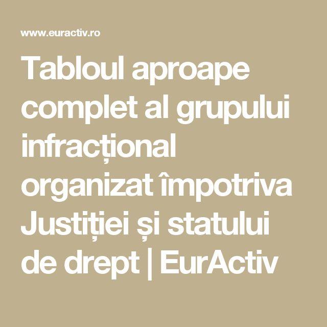 Tabloul aproape complet al grupului infracțional organizat împotriva Justiției și statului de drept | EurActiv