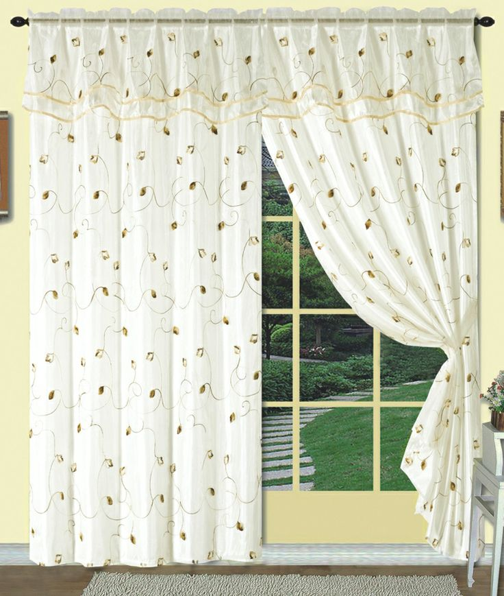 Dorothy Is A Uniquely Layered Curtain Panel With An