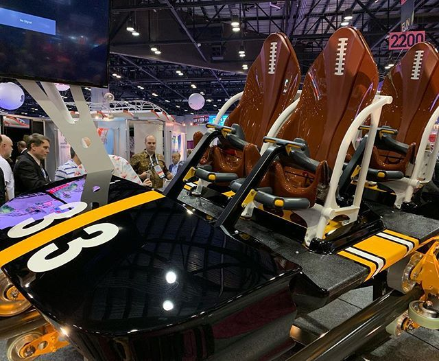 Kennywoods Steel Curtain #RollerCoaster train! Featured in our