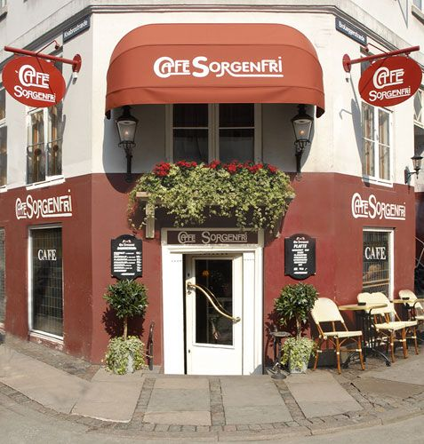 Café Sorgenfri - anbefalt av @Ida Daling, må sjekkes ut!