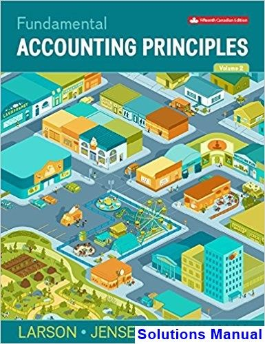 Solutions Manual For Fundamental Accounting Principles