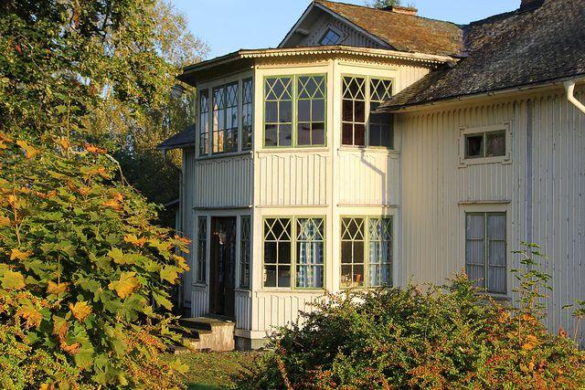 Vackra gamla fönster