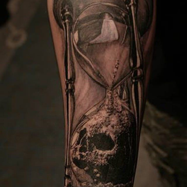17 best images about hourglass tattoos art on pinterest for Skull hourglass tattoo