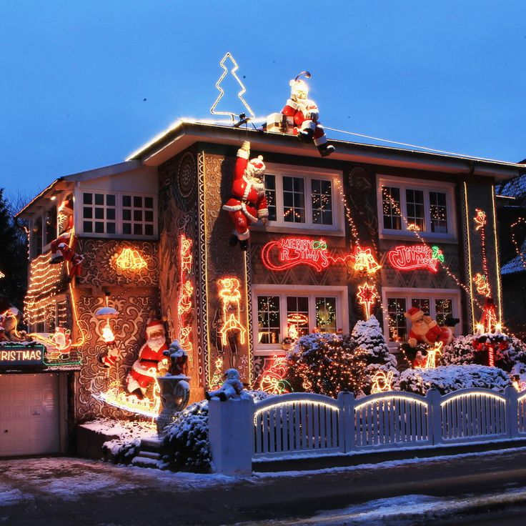 Pictures Of Houses Decorated For Christmas 387 best christmas lights! images on pinterest | christmas lights