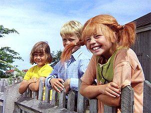 Annika, Tommi und Pippi Langstrumpf