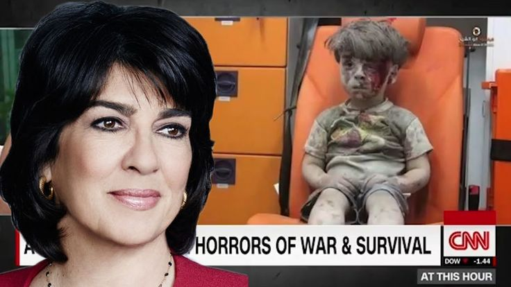 Is this News to you - Amanpour Challenged to Interview Aleppo Boy's Father