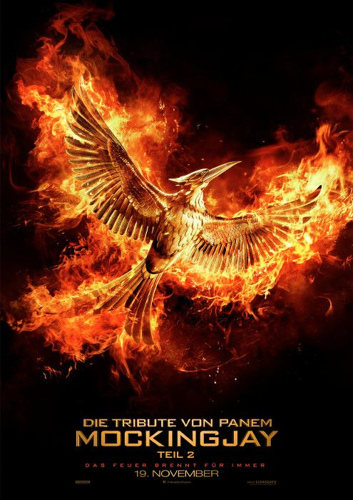 Poster zum Film:  Tribute von Panem - Mockingjay: Teil 2, The