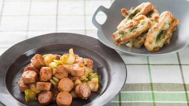 ちくわと魚肉ソーセージの簡単おつまみ2種