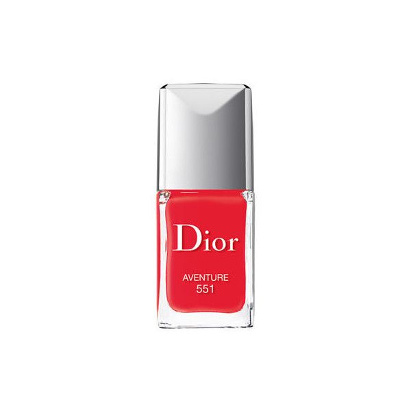 Dior Dior Vernis Couture Color (€22) ❤ liked on Polyvore featuring beauty products, nail care, nail polish, nail, christian dior, gel nail color, shiny nail polish and gel nail polish