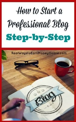 Do you want to start a professional blog? There are many people who are making full-time incomes with their blogs. You could be one of them -- here's how to start.