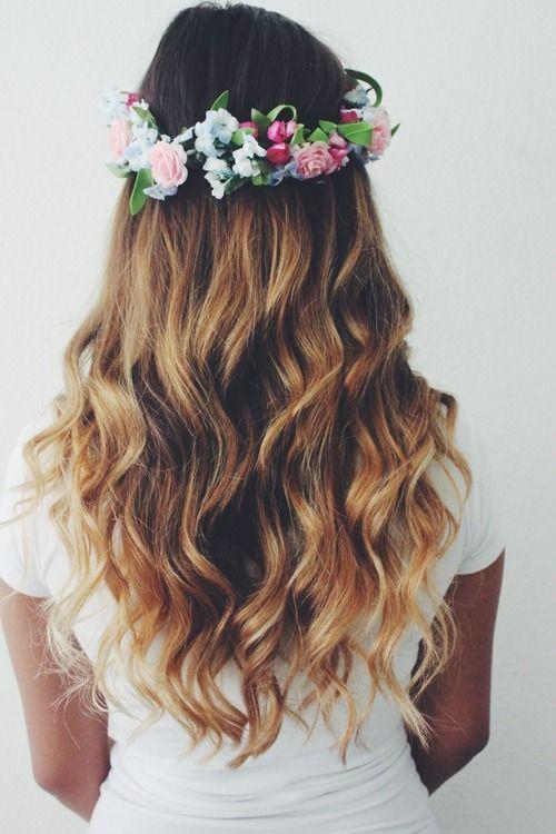 tumblr girl flowers - Google zoeken