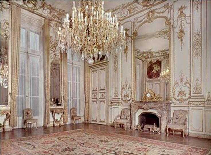 Rococo Design The Term Usually Refers To Late Baroque Style And Associated More With
