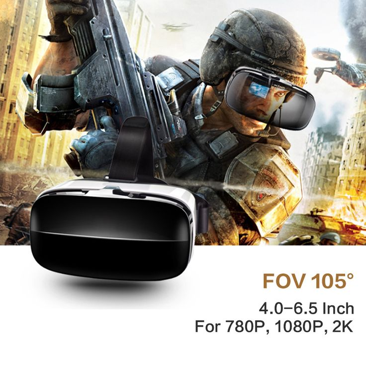 VR Box 3D VR Glasses Headset Virtual Reality Goggles Googles Cardboard 2.0 Version VR BOX For 4.0~6.5 inch Smartphones //Price: $36.96     #electronics