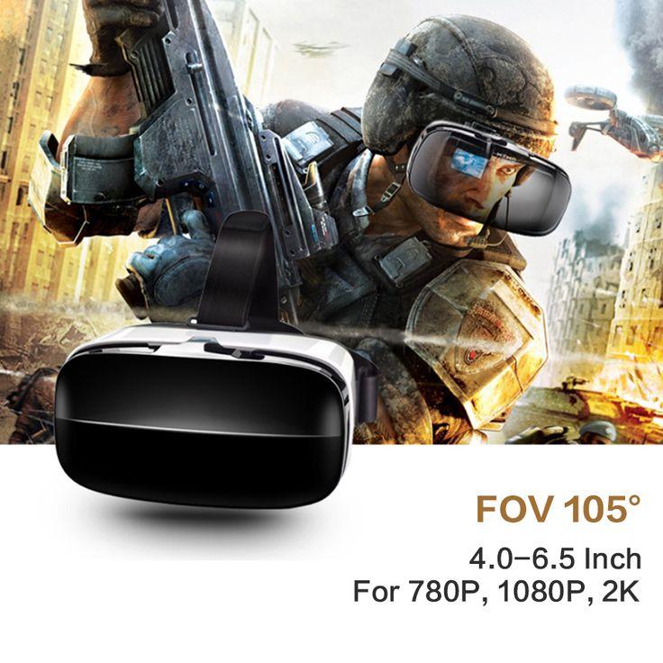VR Box 3D VR Glasses Headset Virtual Reality Goggles Googles Cardboard 2.0 Version VR BOX For 4.0~6.5 inch Smartphones //Price: $35.08      #sale