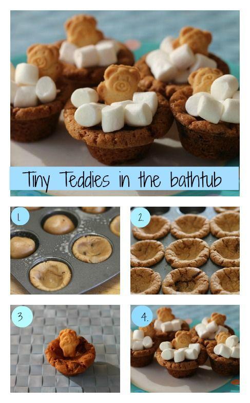 Tiny Teddies in the bath tub - recipe