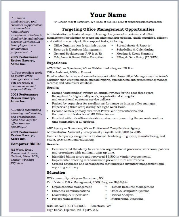Resume Samples Susan Ireland S Ready Made Resumes: 31 Best Best Accounting Resume Templates & Samples Images On Pinterest