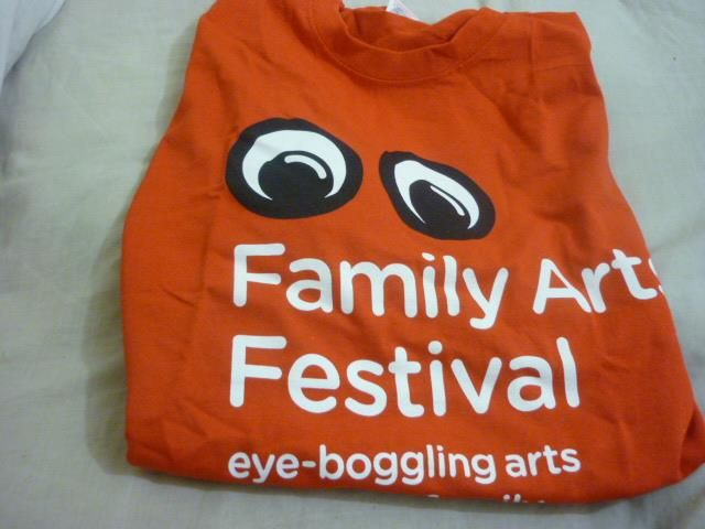 Showing some #FamilyArtsFest pride!