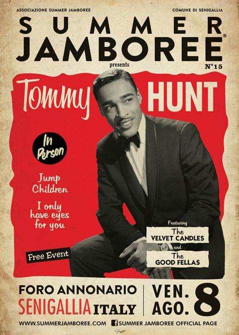 TOMMY HUNT Live!