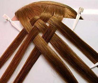 Плетение кос с лентой пошаговая инструкция с 163
