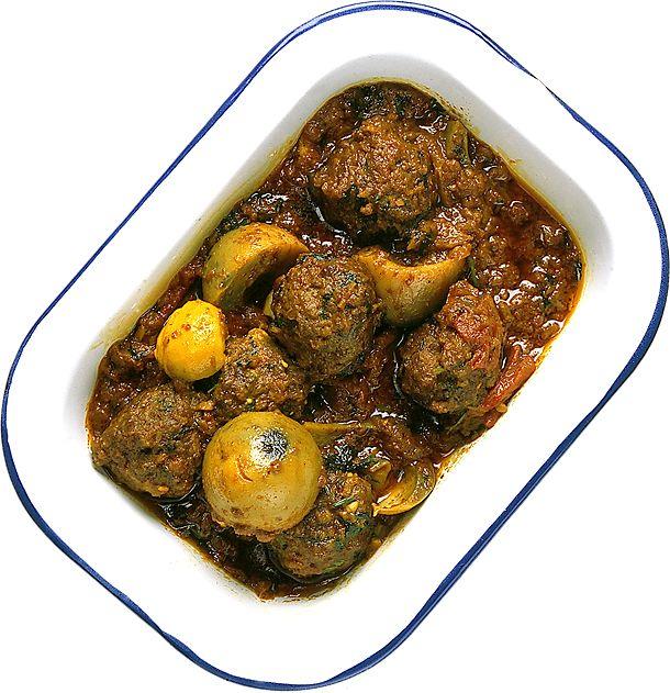 Köttbullar i indisk tomatsås | Recept.nu