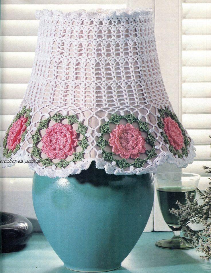 Crochet En Acción: Idea para renovar lámparas