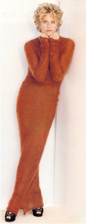 Meg Ryan ♪ ♪ ... #inspiration #crochet #knit #diy GB
