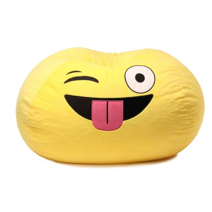GoMoji Emoji Silly Bean Bag Chair - 9631401