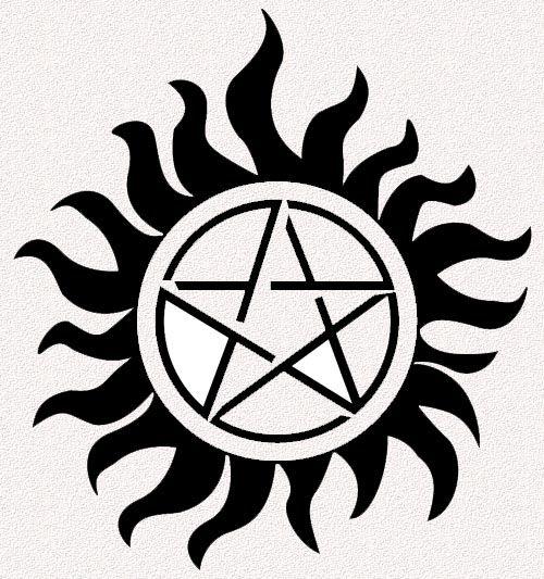 Anti Demon Possession Tattoo Supernatural