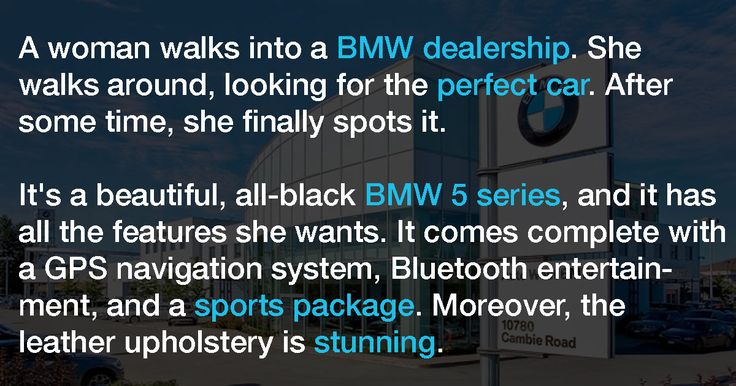 Woman Is Highly Embarrassed After She Farts At A BMW Dealership. Then A Sales Rep Says THIS