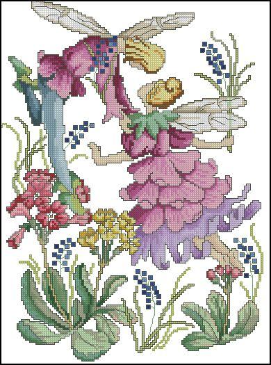 Hadas de las Flores - Abril