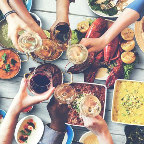 Här är en lista på tumregler att utgå från när du ska planera mängderna till din bjudning.