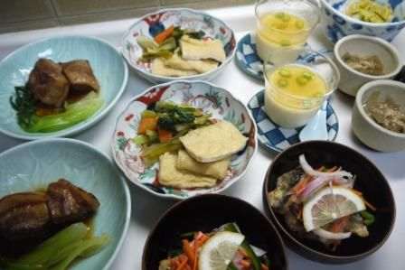 息子帰宅! プラスアルファの夕食 | シニア夫婦の食卓