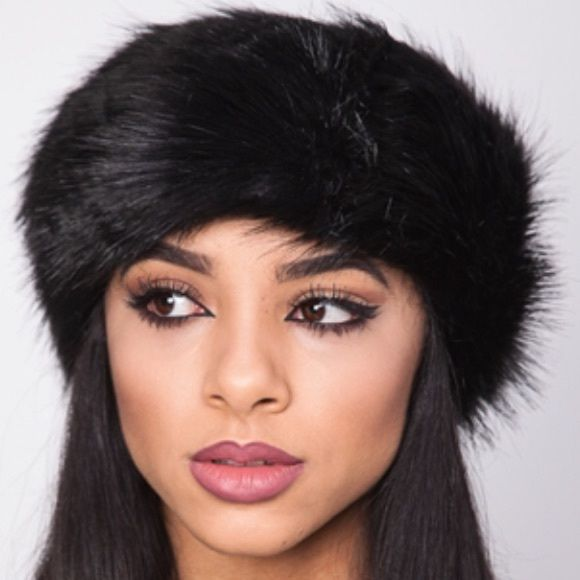 Faux Fur Headband Black. Soft and stretchy. Get the look without breaking the bank! NWOT/RETAIL Accessories Hair Accessories