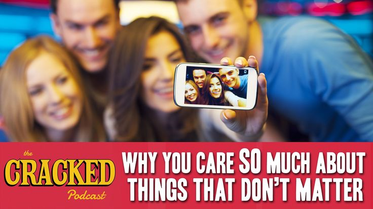 Ever wonder why we argue about stupid stuff, but not important stuff? #video #crackedpodcast