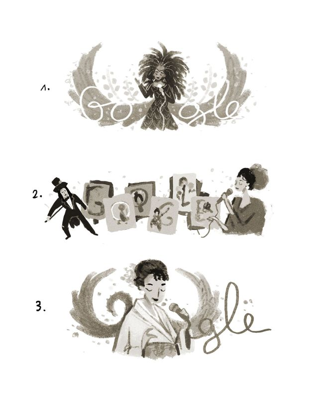 80º aniversário de Hibari Misora #GoogleDoodle