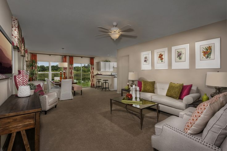 Great Rooms Tampa Part - 31: Mirabella, A KB Home Community In Wimauma, FL (Tampa) | Chris | Pinterest |  Room And House