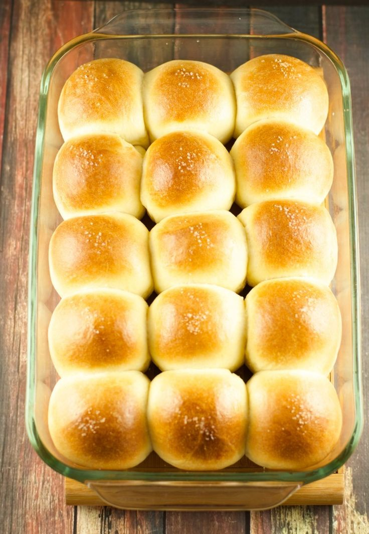 """""""Even the beginner cook can make these. And they're true home-made rolls. They must chill 2 hours. Or you can make them up 3 days in advance.""""    Ingredients  1 cup water ( 110 degrees F)…  2 packages yeast"""