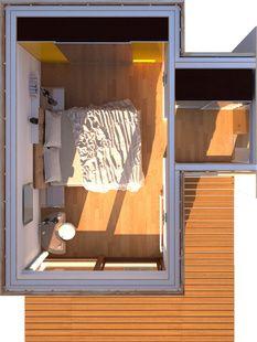 Moduly místností - Europanel Domy