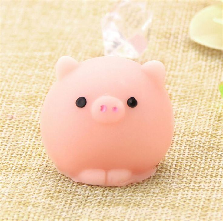 Cute Pig Ball Mochi Squishy Squeeze Prayer Cute Toy Kawaii Collection Fun Joke Gift Anti-stress Toys 2017 New