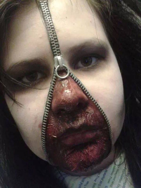 Skilled Teen Transform Herself Into Scary Characters Using Makeup http://www.gossipness.com/lifestyle/skilled-teen-transform-herself-into-scary-characters-using-makeup-1618.html