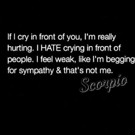 True story #Scorpio ♏♏