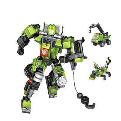 #Gearbest Loz 212pcs Crane Car Warrior Toy (663939) #SuperDeals