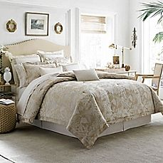 image of Tommy Bahama® Mangrove Duvet Cover Set in Neutral